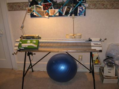My knitting machine