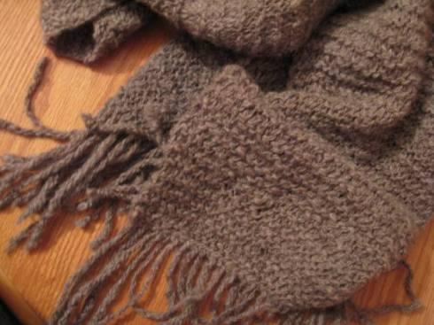 Handspun scarf - 2